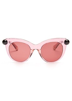 Christopher Kane Cat-eye acetate sunglasses