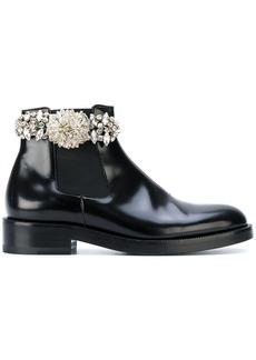 Christopher Kane crystal chelsea boot