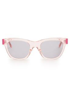 Christopher Kane D-frame acetate sunglasses