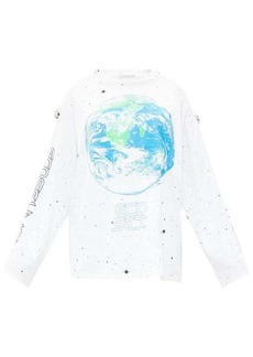 Christopher Kane Eco-sexual long-sleeved T-shirt