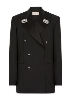 CHRISTOPHER KANE Embellished Tuxedo Jacket