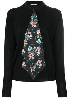 Christopher Kane floral tie cardigan