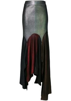 Christopher Kane Laminated multi patch skirt
