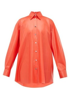 Christopher Kane Latex blouse