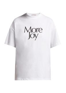 Christopher Kane More Joy printed cotton T-shirt
