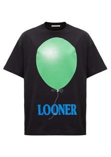 Christopher Kane Oversized looner-print cotton T-shirt