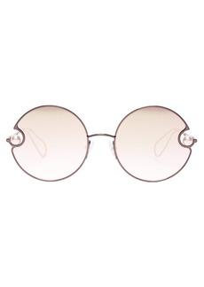 Christopher Kane Oversized round-frame sunglasses