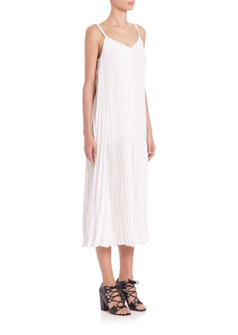 Christopher Kane Pleated Long Dress