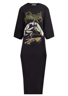 Christopher Kane Praying Mantis-print cotton T-shirt