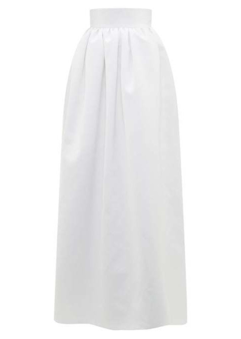 Christopher Kane Puffed satin maxi skirt