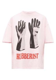 Christopher Kane Rubberist-print cotton T-shirt