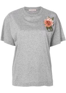 Christopher Kane sequin flower t-shirt