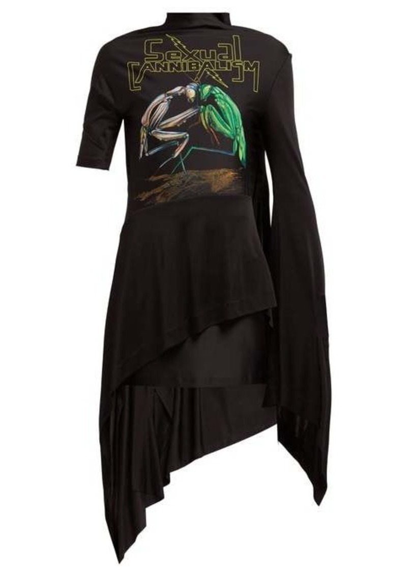 Christopher Kane Sexual Cannibalism open-back jersey dress