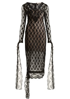 Christopher Kane V-neck lace dress