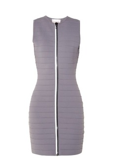 Christopher Kane Zip-through bandage mini dress
