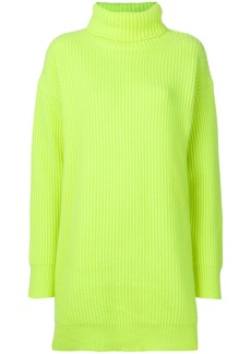 Christopher Kane chunky neon knit jumper