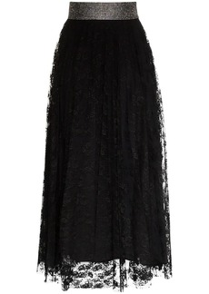 Christopher Kane crystal belt skirt