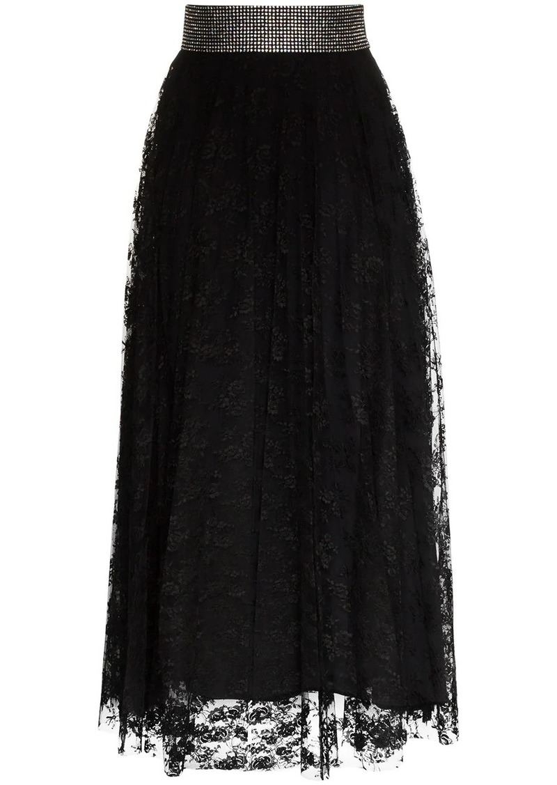 Christopher Kane crystal belt skirt