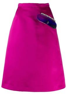 Christopher Kane crystal gel skirt