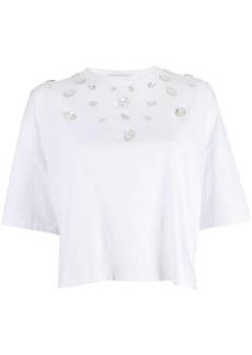 Christopher Kane crystal gem t-shirt