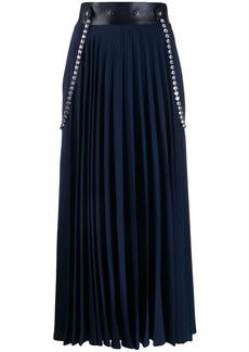 Christopher Kane crystal pleated skirt