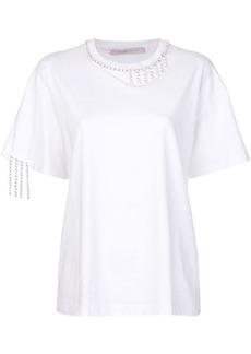 Christopher Kane crystal T-shirt