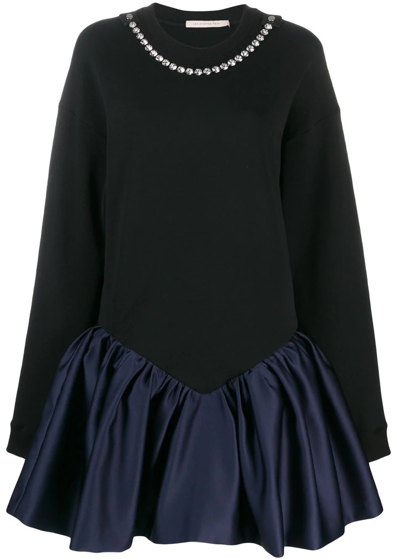 Christopher Kane cupcake sweatshirt dress