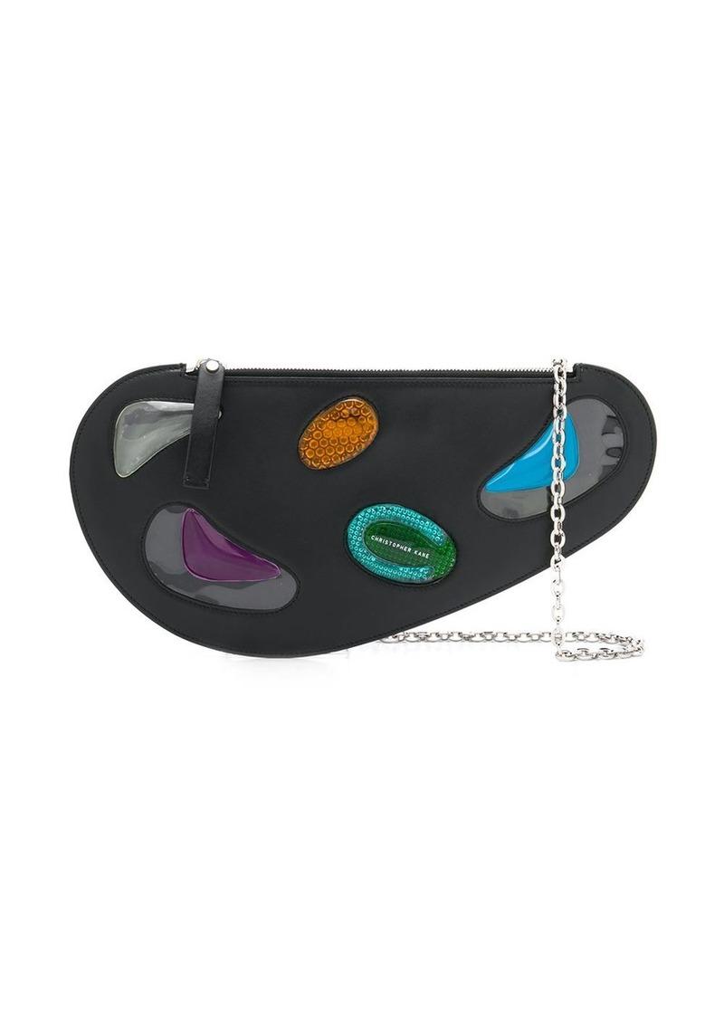 Christopher Kane curve leather and gel bag