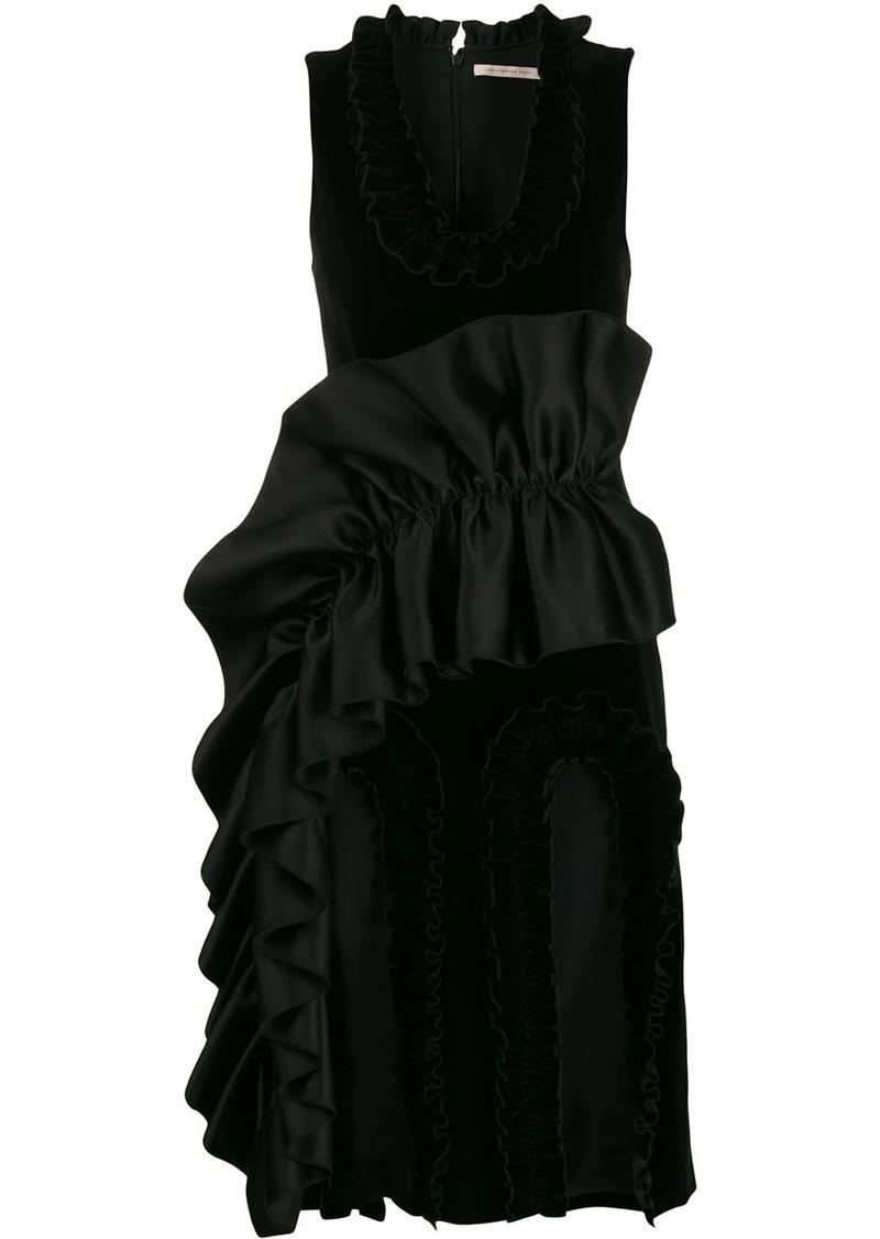 Christopher Kane cutout frill dress