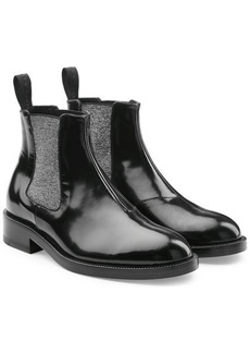 Christopher Kane DNA Ankle Boots in Leather