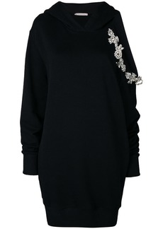 Christopher Kane DNA cut out hoodie dress