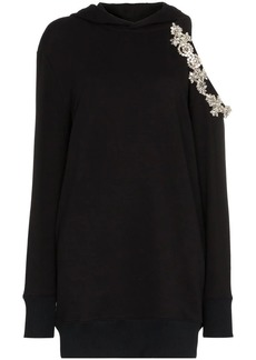 Christopher Kane DNA cut-out hoodie dress