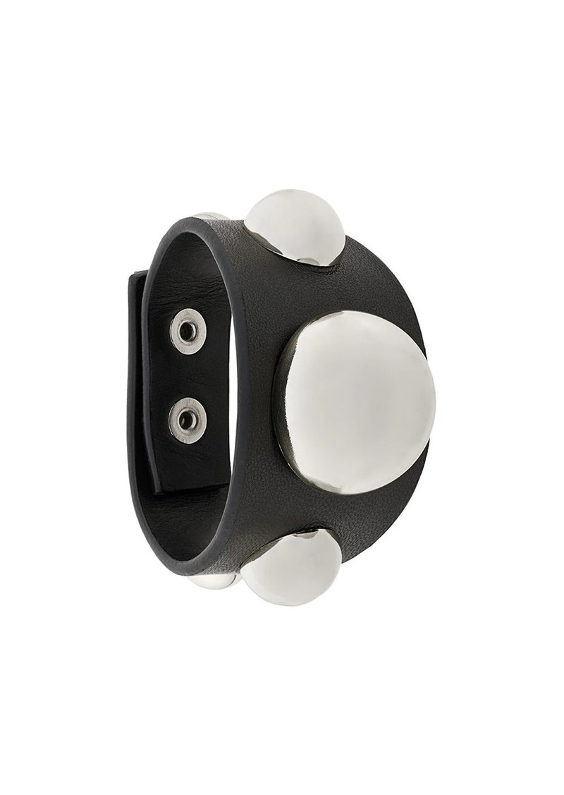 Christopher Kane dome embellished cuff