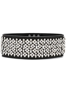 Christopher Kane double crystal belt