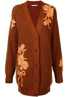 Christopher Kane floral-embroidered cardigan