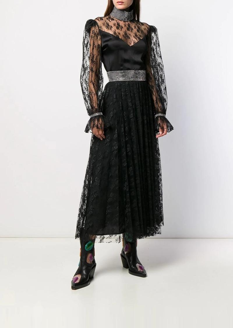 Christopher Kane floral lace blouse