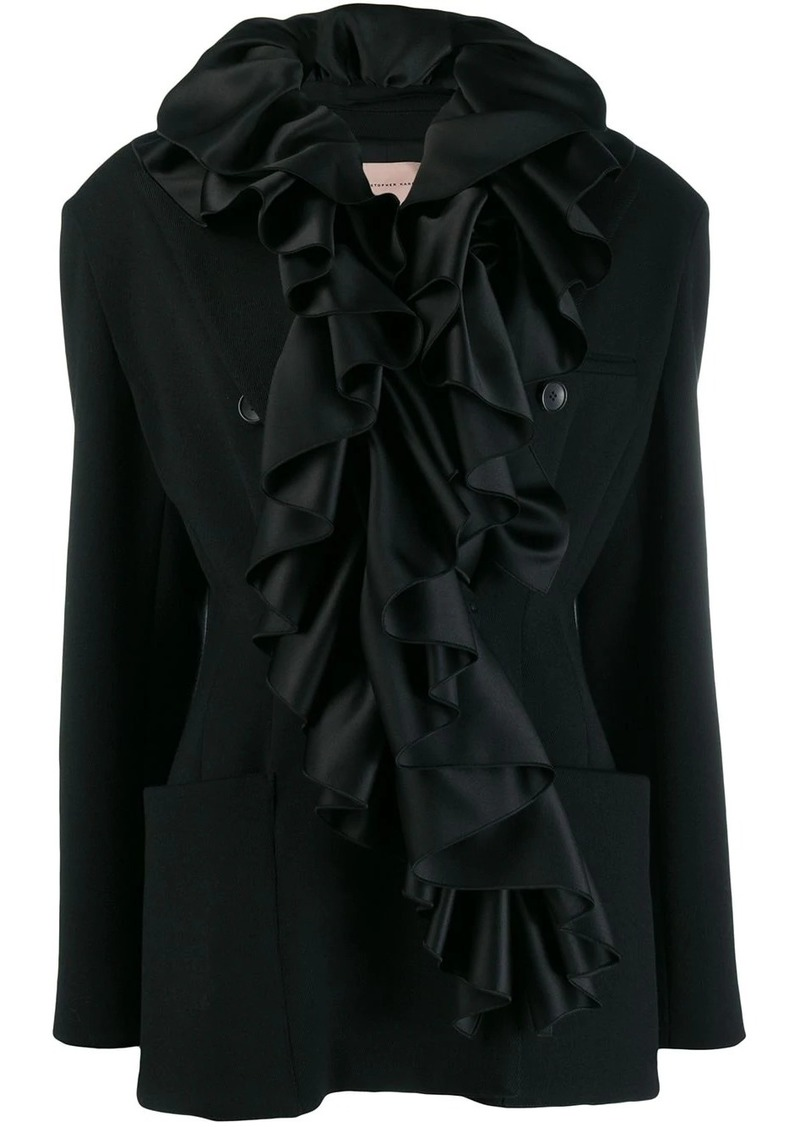 Christopher Kane frill tailored jacket