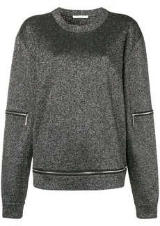 Christopher Kane glitter knit top