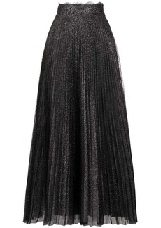 Christopher Kane glitter tulle pleated skirt