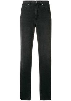 Christopher Kane high-waisted crystal jeans
