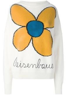 Christopher Kane knitted flower jumper