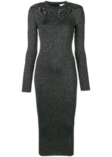 Christopher Kane knitted glitter bodycon dress