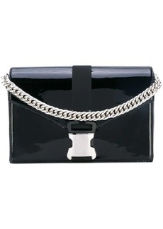 Christopher Kane large patent Devine shoulder bag