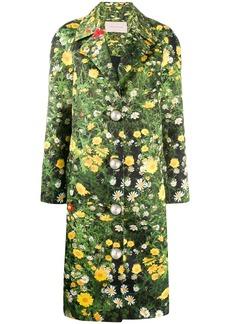 Christopher Kane London Fields satin coat
