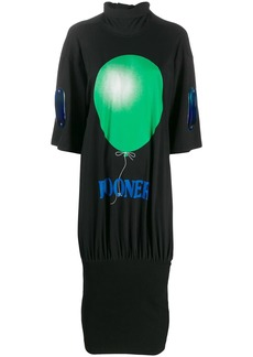 Christopher Kane looner tie jersey dress