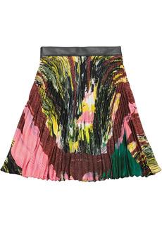 Christopher Kane Mindscape pleated skirt