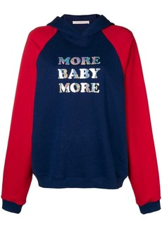 Christopher Kane 'More Baby More' hoodie
