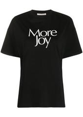 Christopher Kane More Joy print T-shirt