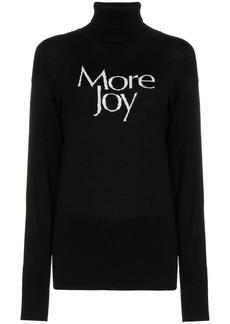 Christopher Kane more joy wool roll neck jumper