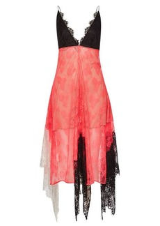 Christopher Kane Neon Lace Cami Dress